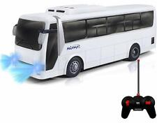 Remote Control RC Bus, with Realistic Beaming Lights and Rubber Tires, Durable