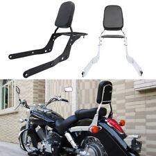 Black Motorcycle Backrest Sissy Bar For Honda Shadow Aero 750 VT750C 2004-2012