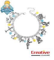 US! Le PETIT The Little Prince Charm Bracelet Bangle Wristband Gifts 10 Terms