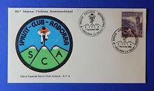 1980 ANDORRA SPANISH BICYCLE COMMEM COVER SCOTT# 53 MICHEL# 62 USED     CS25556B