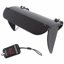 """Folding Car GPS Navigator Sun Shade For Universal 7"""" LCD Monitor Sun Visor Black"""