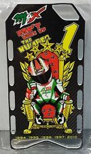 MINICHAMPS MAX BIAGGI MODELO PITBOARDS 5 TÍTULO WARRIORS OF THE WORLD CHAMPION