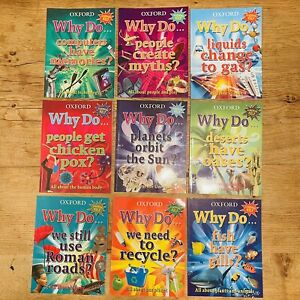 Oxford Why Do? Homework Help 9 Books Science Culture Ecology Climate Education