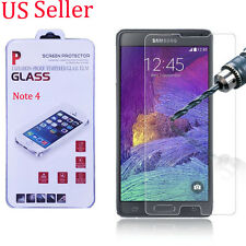 2X 9H TEMPERED GORILLA GLASS SCREEN PROTECTOR For SAMSUNG GALAXY Note 4 US