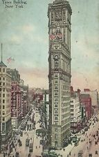 Vintage Times Building New York 1916 Post Card