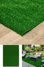 Green Artificial Grass Rug 6 ft. x 8 ft. Indoor Outdoor Use Easy To Install