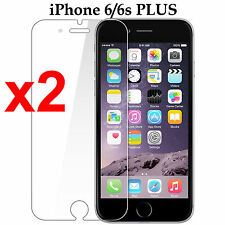 x2 Anti-scratch 4H PET film screen protector Apple iphone 6 6s PLUS front