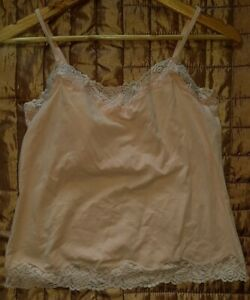 Bravissimo Vest Tank cami Underwear Built In Bra 36D peach