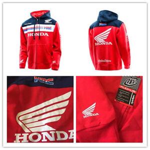 2020 NEW Sweat à capuche  Honda HRC Racing Zip Motogp