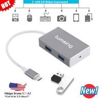 For Samsung S9 S8 Macbook Pro USB C Adapter USB A 3.0 - USB 3.1 Type-C Connector