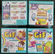 NEW Lot of 4 OH! MY GIF Blind Mystery 1 BIT Pack, GIFS GONE LIVE Animated Figure