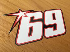 Número de carreras Nicky Hayden No69 (grande)