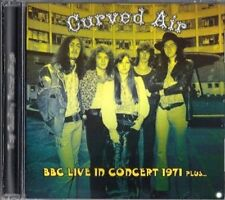 "Curved Air:  ""BBC Live In Concert 1971 Plus...""  (CD)"