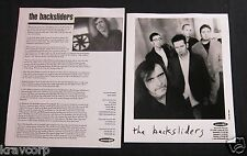 THE BACKSLIDERS 'SOUTHERN LINES' 1999 PRESS KIT--PHOTO