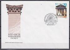 POLAND 2000 FDC SC#3563  Zacheta Art Museum, Warsaw Cent.