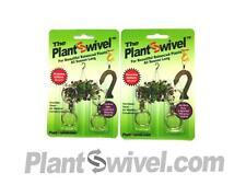 Qty 2 - Hanging Basket Plant Swivel Hook Metal Hanger Plantswivel 2pks