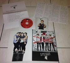 5 Seconds Of Summer 5SOS 2014 Taiwan Press Kit Promo DVD Folder 4 Cards not CD