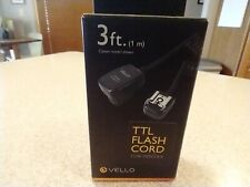 Vello Off-Camera TTL Flash Cord for Pentax Cameras (3')