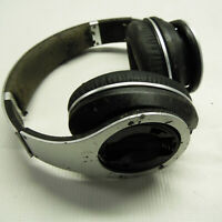 Beats by Dr Dre Studio Over Ear Wired Headphones Silver FOR PARTS