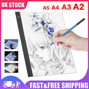 Lot A2 A3 A4 A5 LED Light Box Drawing Copy Board Tracing Diamond Jewel Painting