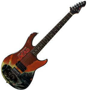 Peavey Rockmaster Full Size The Walking Dead Governer Red 43 Electric Guitar New