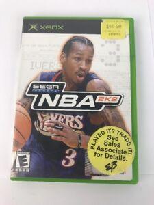 NBA 2K2 (Microsoft Xbox, 2002) Sega Sports