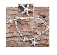 SEXY SILVER STAR STARFISH ANKLET SUMMER Ankle Bracelet SEA Jewellery BEACH UK