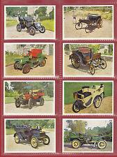WESTON'S BISCUITS  -  SET OF  L24  VETERAN  &  VINTAGE  CARS  1ST  CARDS -  1961