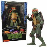 "NECA - Teenage Mutant Ninja Turtles 1990 Movie - Michelangelo 7"" Action Figure"