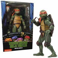 NECA TMNT MOVIE Michelangelo Action Figure (Teenage Mutant Ninja Turtles)