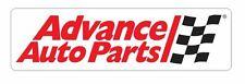 Advance Auto Parts Sticker Decal R340 Racing Race Car
