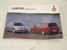 Mitsubishi Lancer Estate Owner`s manual (2005-2007)