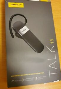 Jabra Talk 15  Bluetooth Headset - Black