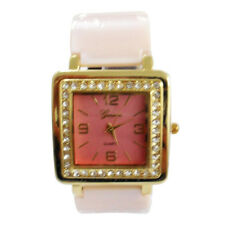 Geneva Ceramic Ladies Quartz Analog Fashion Watch#159 - Pink
