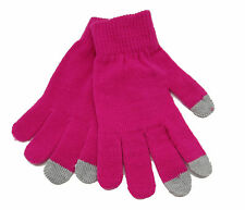 CODELLO egloves TOUCHSCREEN Gants Iphnoe IPAD SMARTPHONE ROSE VIF NEUF [34]