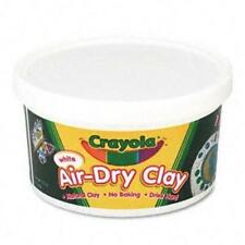 Crayola Air-Dry Clay 2.5lb - White - 1 Tub