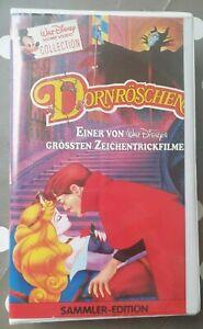 Walt Disney Home Video Collection Dornröschen Sammler Edition VHS