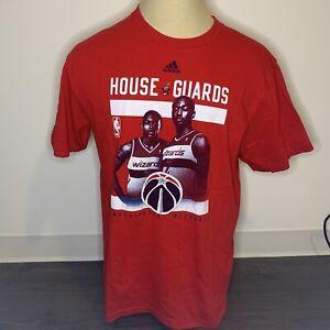 Adidas Wizards Shirt John Wall Bradley Basketball Sports Red XL Extra Large