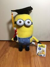 "Despicable Me 2  ""MINION Dave Graduation 10"" Plush Great Gift ! HOT HOT"