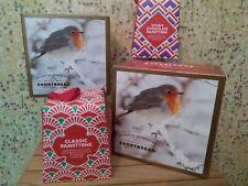 4 x M&S CHRISTMAS TREATS - PLAIN + CHOCOLATE PANETTONE + 2 x BUTTER SHORTBREAD