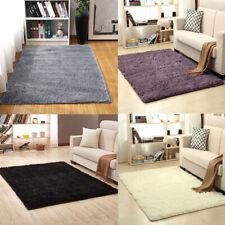 Fluffy Rugs Anti-Skid Shaggy Area Rug Carpet Rectangle Floor Mat Home Bedroom