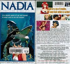Nadia Secret of Blue Water Vol 3 Aboard Nautilus Anime VHS Video Tape New Subbed