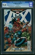 Avengers vs X-Men #10 (2012) CGC Graded 9.8 ~ Variant Edition ~ 1:100 Ratio