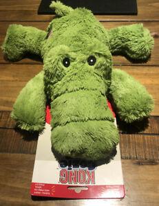 """*NEW* Genuine KONG Cozi Ali Alligator Soft Dog Toy 14"""" 35cm Long Extra Large"""