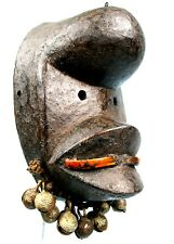 Art Africain Arts Premiers - Masque Passeport Kran - Superbes Ornements - 19 Cms