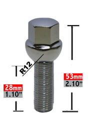 Wheel Lug Bolt-Lug Bolt Ball Seat 17mm Hex 14mm 1.50 x 28mm.
