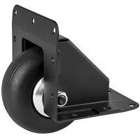 """Penn Elcom W2080K/HD 3"""" Heavy Duty Recessed Corner Caster Durable Steel Black"""