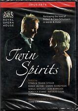 TWIN SPIRITS - STING & TRUDIE STYLER -2DVD NUOVO SIGILLATO ROBERT CLARA SCHUMANN