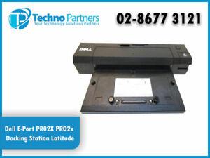 Dell E-Port PR02X PRO2x Docking Station Latitude Precision Port Replicator 6330