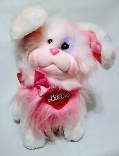 "Vtg Mattel Barbie Puppy Dog Soft Sparkley Friends Precious Pup 1986 11"" Plush"